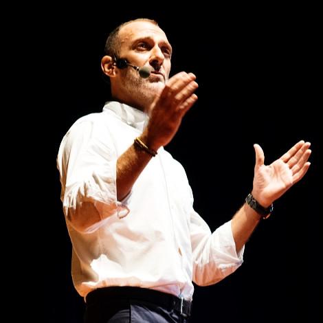 """11:20 – 11:40 Taller de Bruno Moioli """"Liderazgo, el arte de hacer que los sueños ocurran"""""""